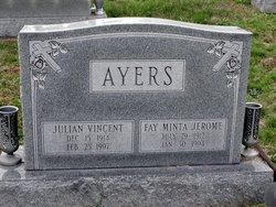 Fay Minta <I>Jerome</I> Ayers