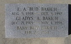 """Edward A """"Bud"""" Bakich"""