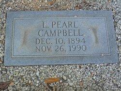 Leila Pearl <I>Gresham</I> Campbell