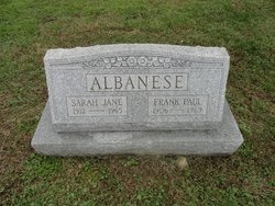 Sarah Jane <I>Butler</I> Albanese