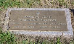 Pamela Jean <I>Simmons</I> Burton