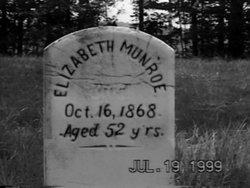 Elizabeth <I>Phillips</I> Munroe