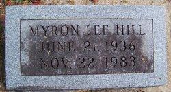 Myron Lee Hill