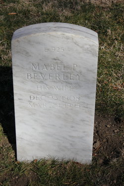 Mabel P Beverley