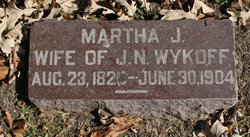 Martha J <I>Housel</I> Wykoff