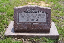 Dr Opal Laurene <I>Smith</I> Reddin
