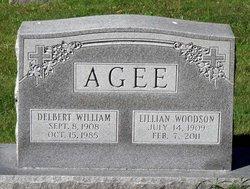 Lillian Estelle <I>Woodson</I> Agee