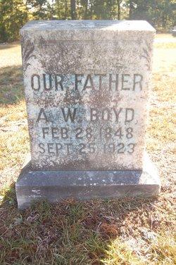 Abram (Abraham) White Boyd