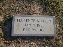Florence Mabel <I>Byrd</I> Allen