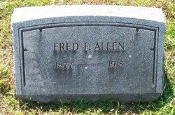 Fred F Allen