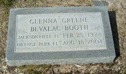 Glenna Lee <I>Greene</I> Booth