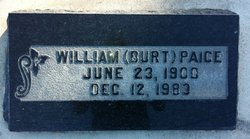 """William Burton """"Burt"""" Paice"""