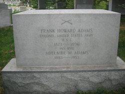 Adelaide M Adams