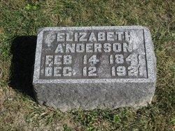 Elizabeth <I>Bixler</I> Anderson