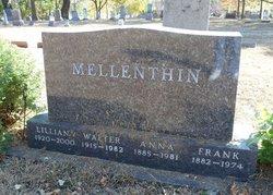 "Lillian Ann ""Lilly"" <I>Zgoda</I> Mellenthin"