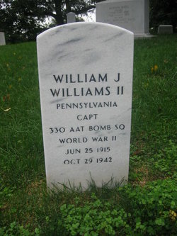 Capt William Jonreau Williams, II