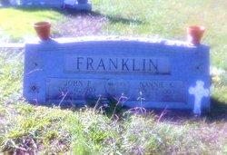 Nannie Kate <I>Waters</I> Franklin