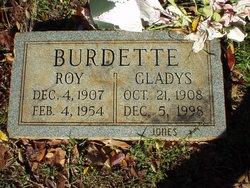 Gladys <I>Barnett</I> Burdette