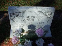 Minnie Mae Burks