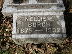 "Mary Ellen ""Nellie"" <I>Hartley</I> Burch"