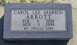 Carol Lee <I>Harris</I> Abbott