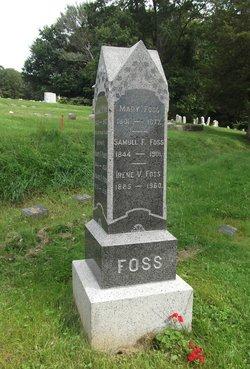 Mary <I>Shipley</I> Foss