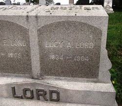 Lucy Ann <I>Clark</I> Lord
