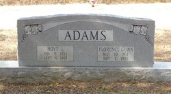 Florence <I>Gunn</I> Adams