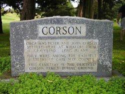 Corson Burial Ground
