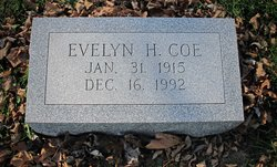 Evelyn <I>Hurlbutt</I> Coe
