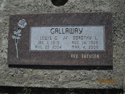 "Dorothy L. ""Dottie"" <I>Totusek</I> Gallaway"