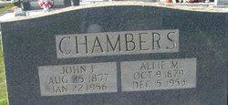 Era Alice Allie <I>Mize</I> Chambers