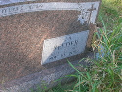 """John Booker """"J. B."""" Reeder"""