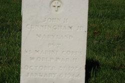 John H Cunningham, Jr