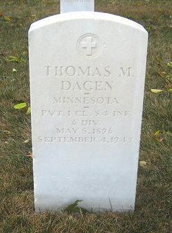 Thomas M Dagen