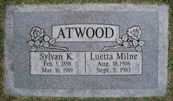 Luetta King <I>Milne</I> Atwood
