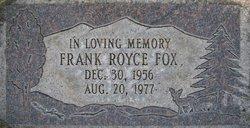 Frank Royce Fox