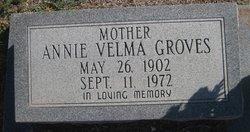 Annie Velma <I>Hedgecoke</I> Groves