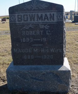 Maud May <I>Mowery</I> Bowman