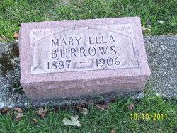 Mary Ellen <I>Hopper</I> Burrows