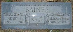 Henry Franklin Baines