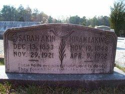 Sarah <I>Bowman</I> Akins