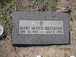Mary <I>McCue</I> Bremner