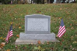 Old Simpson Chapel Cemetery