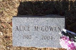 Alice McGowan