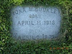 Iona Margaret Buckley