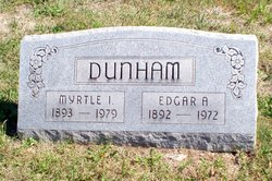 Myrtle Irene <I>George</I> Dunham