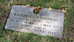 Lieut Richard Peter Richards