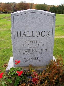 Sewell A Hallock