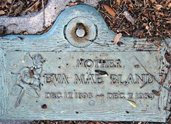 Eva Mae <I>Massey</I> Bland